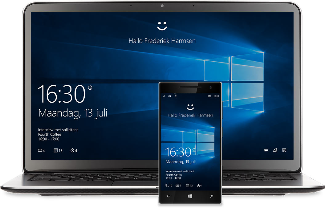 Windows 10 laptop mobile